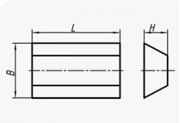 Шлифовальные сегменты трапециевидные